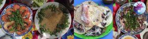 Cơm trưa hải sản nhẹ nhàng của tour cù lao xanh trong ngày
