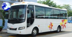 Dịch vụ thuê xe Quy Nhơn - xe 30 chỗ