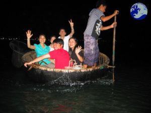 Trải nghiệm câu mực đêm ở Cù Lao Xanh