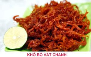 Khô bò Bình Định