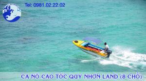 Ca nô cao tốc Quy Nhơn Land 01