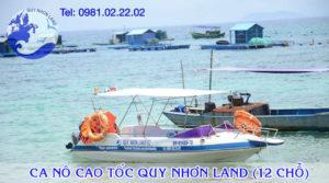 Ca nô cao tốc Quy Nhơn Land 02