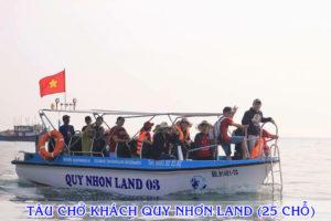Tàu vỏ Composite QUY NHƠN LAND Chở khách đi tuyến gần