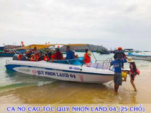 Ca nô cao tốc Quy Nhơn Land 04