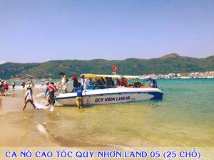 Ca nô cao tốc Quy Nhơn Land 05