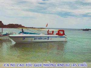 Ca nô cao tốc Quy Nhơn Land 07