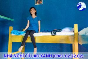 Nhà nghỉ ở Cù Lao Xanh