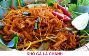 Khô gà Lá chanh Bình Định