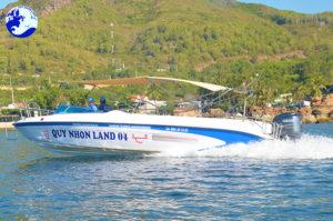 Ca nô Cao tốc Quy Nhơn Land 04 tại Đảo Hòn Khô