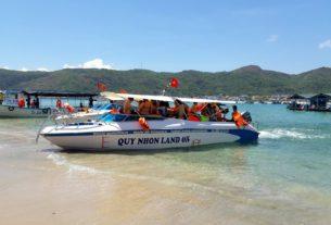 Tàu đi Cù lao Xanh Nhơn Châu