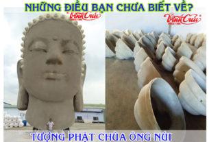 Tượng phật chùa ông núi Cát tiến Bình Định