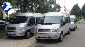 Xe Ford Transit 16 chỗ cho thuê dịch vụ chở khách