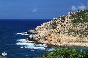 Bãi đá Cù Lao Xanh