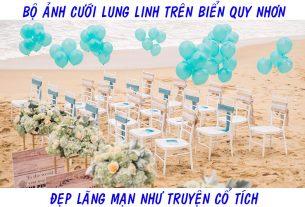 Đãm cưới trên bãi biển Quy Nhơn