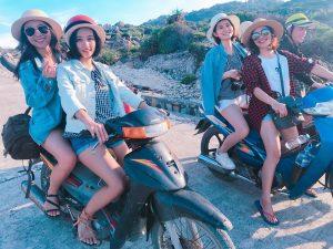 Dạo xe máy quanh Đảo Cù Lao xanh
