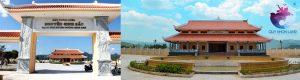 Khu tưởng niệm Cụ Nguyễn Sinh Sắc ở huyện Tây Sơn
