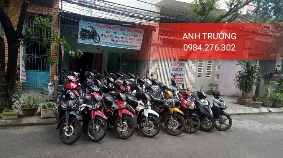 Thuê xe máy Quy Nhơn giá rẻ mà chất lượng uy tín