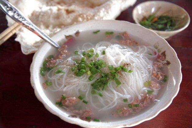 Đặc sản quy nhơn bún tôm đầm Châu Trúc-Ảnh: Sưu tầm Internet