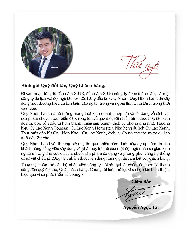 Giới thiệu về công ty Quy Nhon Land