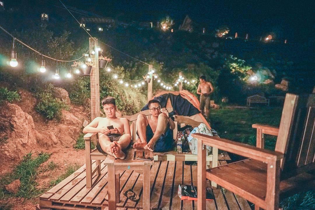 Ngỡ lạc trời Tây khu cắm trại ngoài trời độc chiếm qủa đồi hot nhất Bình Định: Trung Lương