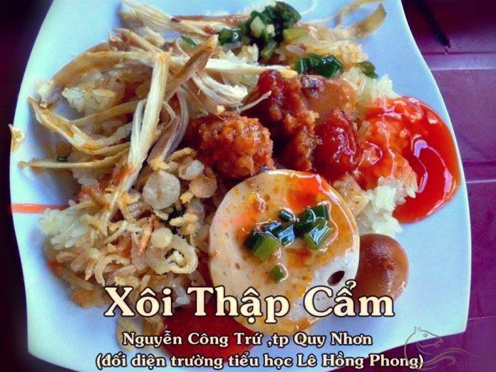 Đường Nguyễn Công Trứ Quy Nhơn thiên đường ẩm thực ăn sáng độc đáo
