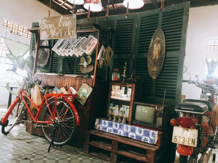 Các quán cafe quy nhơn mang phong cách thời xưa
