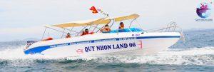 Ca nô Cao tốc Công ty Quy Nhon Land đi tới Khu Du Lịch Hải Giang