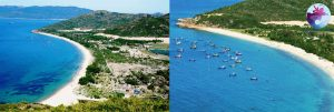 Toàn cảnh biển Khu du lịch Hải Giang