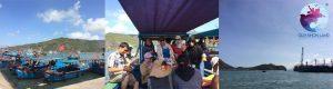 Tàu gỗ đi Đảo Hải Giang