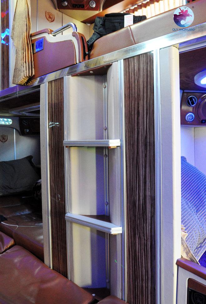 Nội thất xe Limousine giường nằm Quy Nhơn