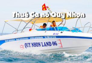 Thuê ca nô Quy Nhơn tham quan các đảo