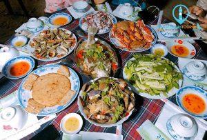 Thưởng thức ẩm thực ở Đảo Cù Lao Xanh