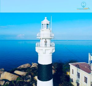 Hải Đăng Cù lao Xanh chụp bằng Fly-cam
