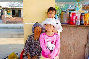 Người dân ở Đảo Cù Lao Xanh