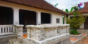 Ngôi nhà cổ ở Làng rau Thuận Nghĩa - Ảnh: Internet