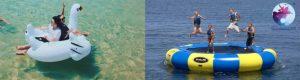 Tham gia một số game trò chơi biển nhẹ ở Tour Hòn Khô