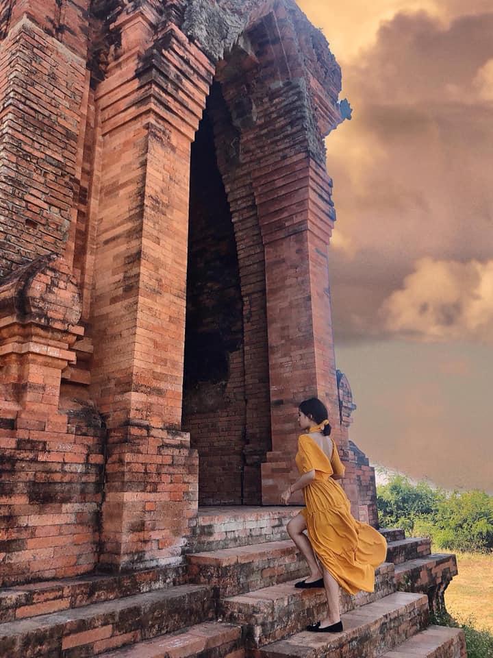 Check in Quy Nhơn đừng quên ghé thăm tháp bánh ít siêu đẹp
