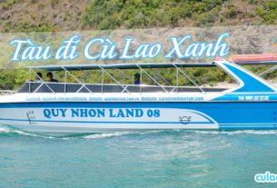Tàu đi Cù Lao Xanh
