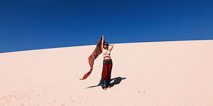 Du lịch Quy Nhơn đừng bỏ qua đồi cát Phương Mai