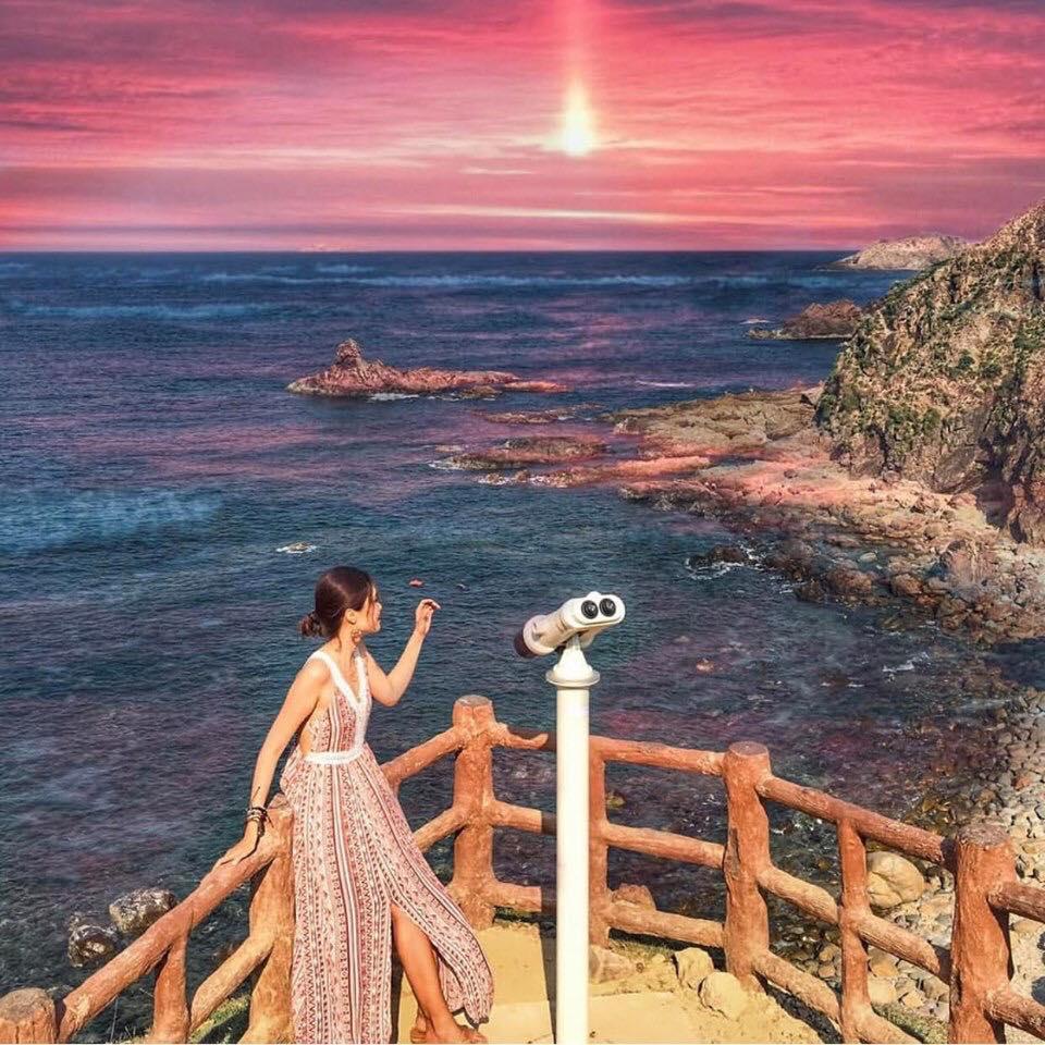 Đến Eo Gió Quy Nhơn check-in con đường đi bộ ven biển hot nhất hè này