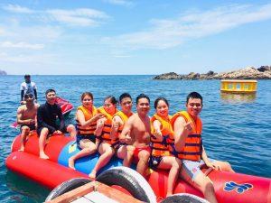 Khu du lịch có thể check in cùng bạn bè và gia đình tại Cù Lao Xanh