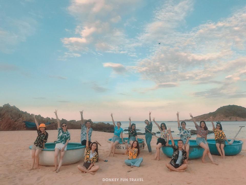 """Du lịch Quy Nhơn check in """"Bãi Xép"""" địa điểm sống ảo của giới trẻ"""