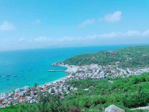 Một góc đảo Cù Lao Xanh - Ảnh: Nguyễn Đình Chính