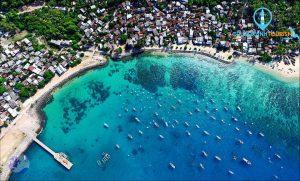 Vẻ đẹp của đảo Cù Lao Xanh. - Ảnh Internet