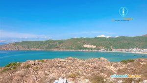 Phong cảnh Cù Lao Xanh từ trên cao