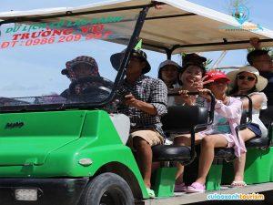 Phương tiện đi lại ở Cù Lao Xanh