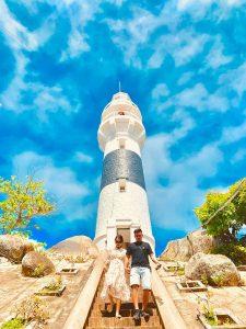 Ngọn hải đăng nổi tiếng ở Cù Lao Xanh - Ảnh Internet