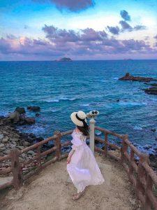 Đến với cù lao Xanh, du khách sẽ được hòa mình vào cuộc sống của người dân đảo. Ảnh: Internet