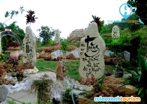 Vườn hoa Hàn Mặc Tử Bình Định (ẢNH ST)
