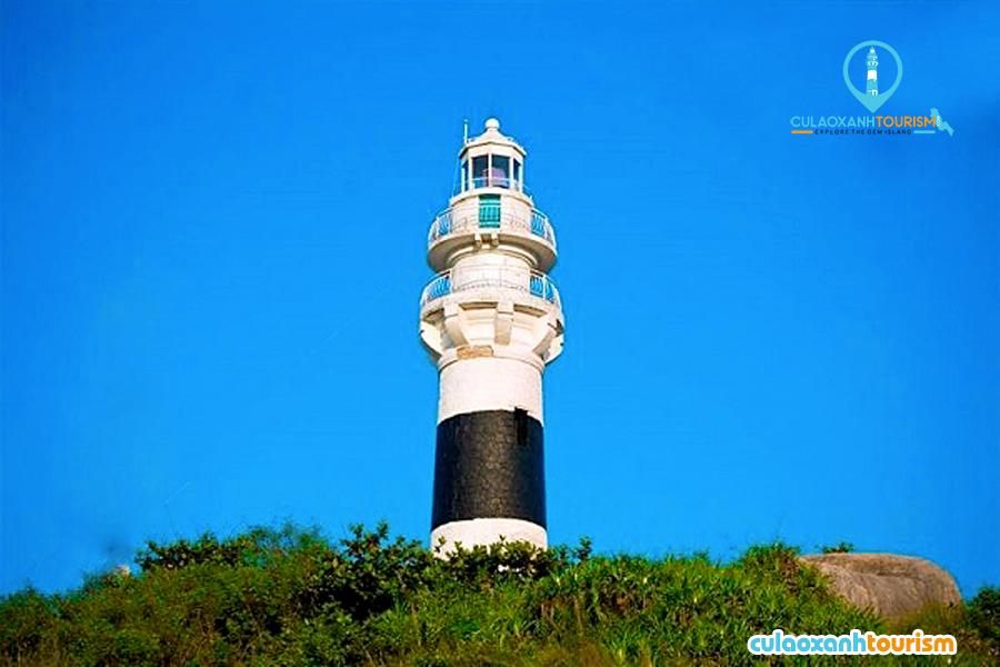 Ngọn hải đăng ở Cù Lao XanhMô tả ảnh